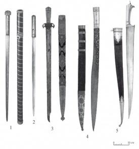 Ближневосточные боевые ножи