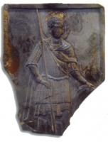 Доспехи святых воинов на стеатитовых иконах из раскопок средневекового Херсонеса