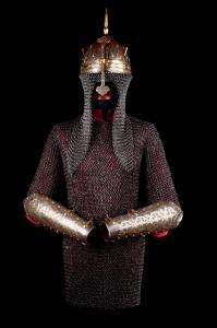 Кольчуга, шлем, наручи индо-персидского стиля