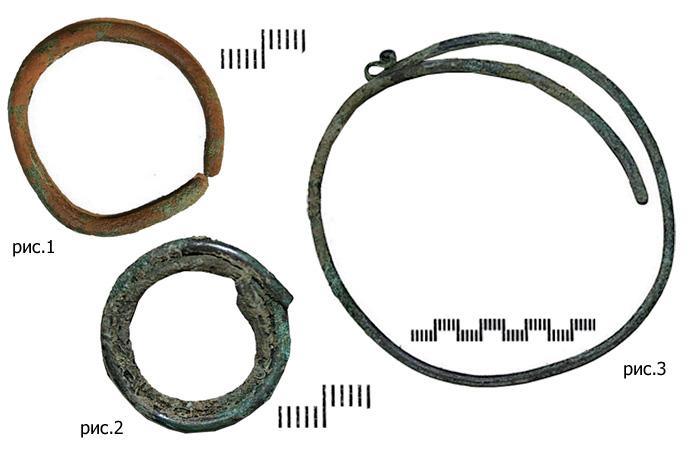 Проволочные височные кольца