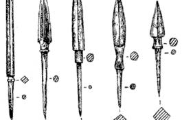 Железные бронебойные наконечники стрел