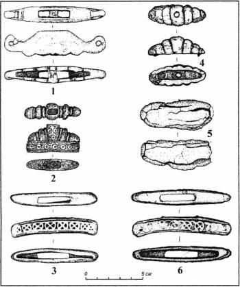 Деталі руків'їв мечів