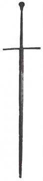 Средневековый меч из республики Беларусь
