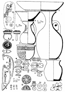 Древний кинжал на Кавказе. Погребение 61 могильника Цибилиум-1