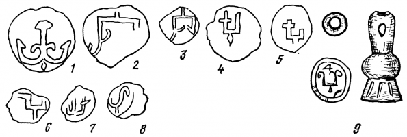Знаки Рюриковичей в сфрагистических материалах из Белоозера